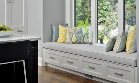 Lisa Canning Interiors_Custom Window Bench